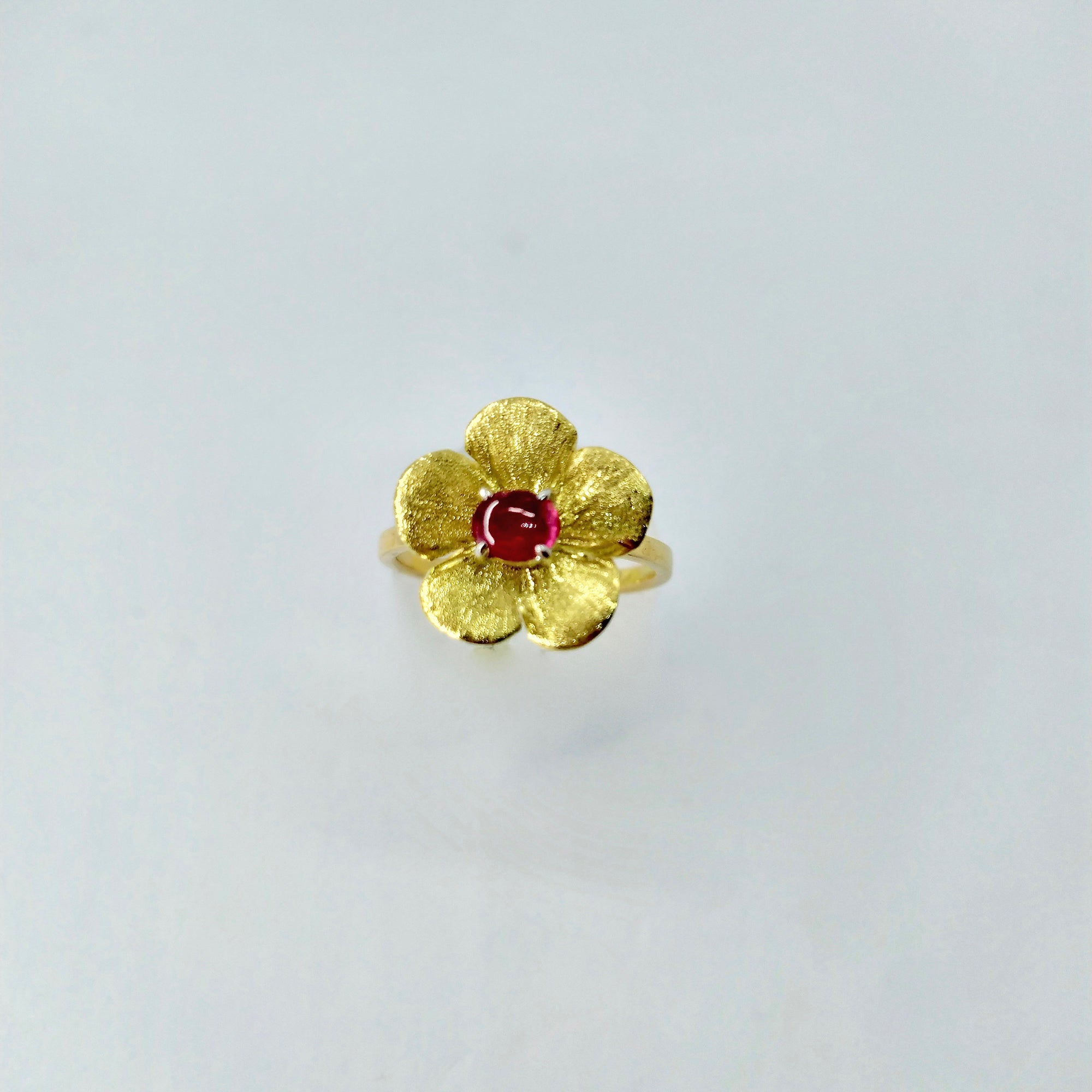 """Forget Me Not"" Flower Ring - Florentine Handmade Jewellery"