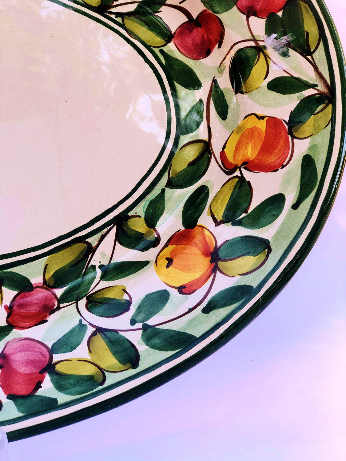 Oval Tray - Handpainted Ceramics