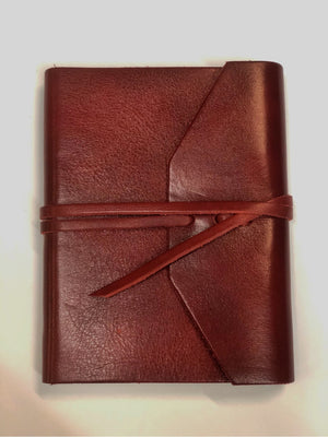 "Open image in slideshow, ""Roma"" Journal - Handcrafted Leather Journal"