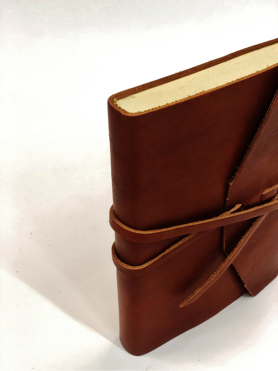 """Roma"" Journal - Handcrafted Leather Journal"