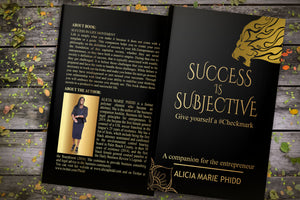 Power of Influence Excerpt from Success is Subjective: Give yourself a #Checkmark