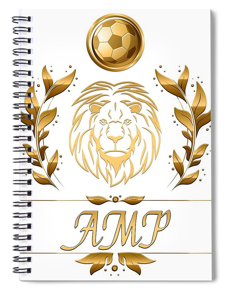 Gc Soccer - Spiral Notebook