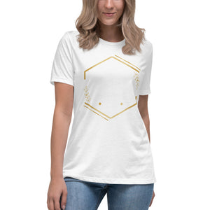 iron sharpeneth iron  Women's Relaxed T-Shirt