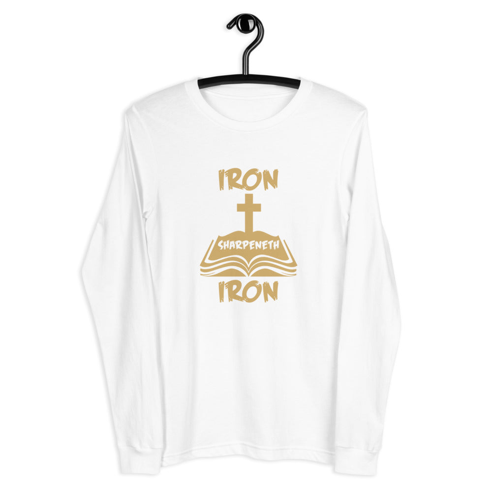 Iron Sharpeneth Iron Unisex Long Sleeve Tee