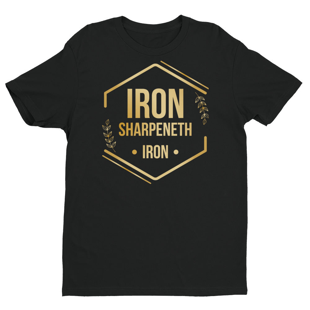 iron sharpeneth iron Short Sleeve T-shirt 2019