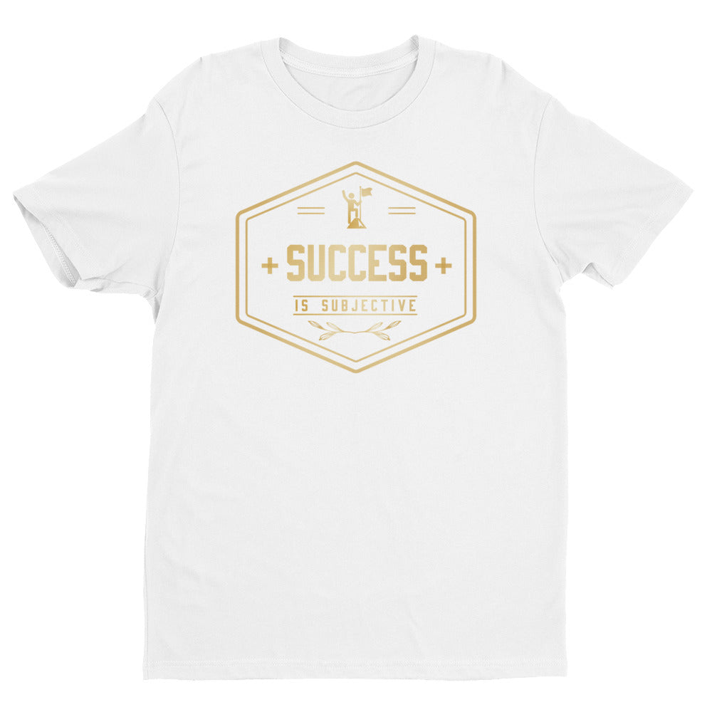 success is subjective Short Sleeve T-shirt 2019