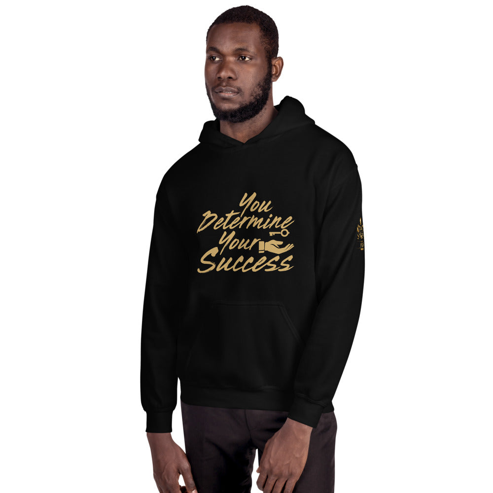 You Determine Your Success Unisex Hoodie