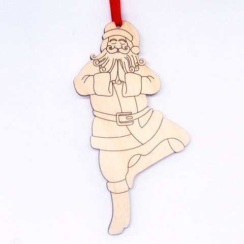 Yoga Santa - Tree Pose