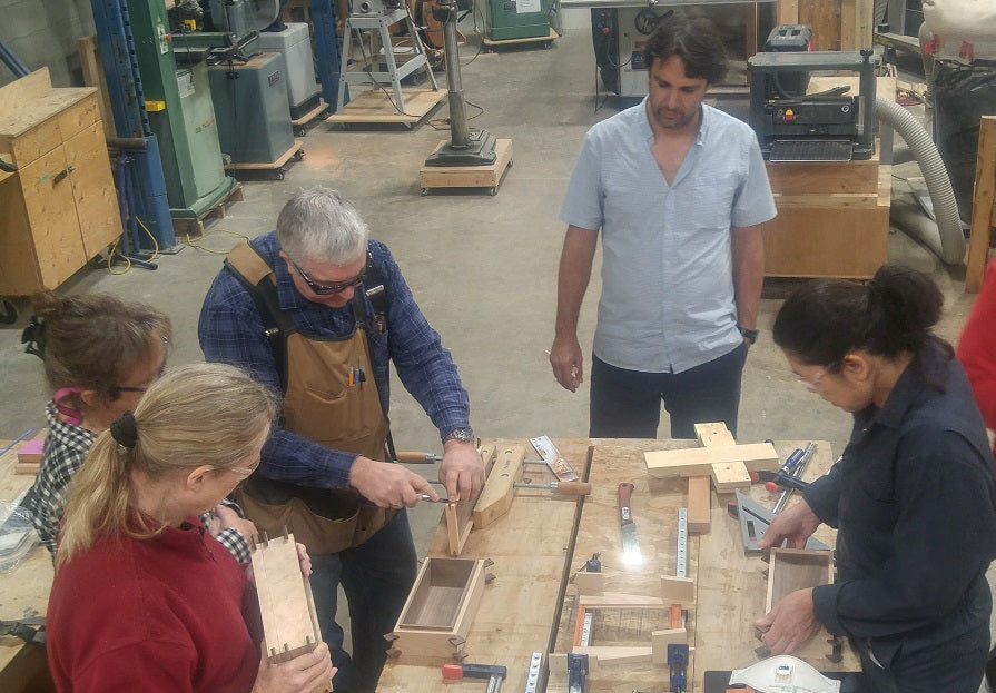 Introduction to Power Tool Woodworking Course - Evenings