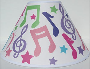 Music Notes Lamp Shade / Musical Notes Nursery Decor