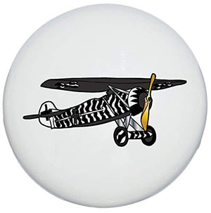 Single Vintage Airplane Drawer Pulls Ceramic Dresser Cabinet Handle Knobs/Airplane Children's Decor