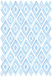 Blue Frozen Ice Crystals Wall Decals Stickers Girls Room Nursery Wall Decor