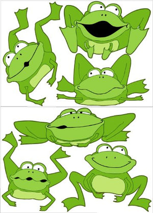 Frog Wall Stickers Decals