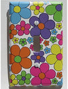 Daisy Flower Light Switch Plate Cover / Nursery Wall Decor in Hot Pink, Purple, Yellow, Blue, Green and Orange