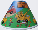 Construction Truck Lamp Shades / Constrution Truck Childrens Decor