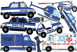 Police Wall Stickers / Decals