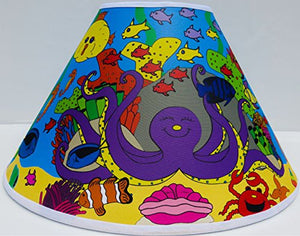 Under Sea Lamp Shades / Under the Sea Themed Lamp Shade