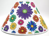 Multicolored Gerber Daisy Flower Lamp Shade Flowers Girls Children's Nursery Decor