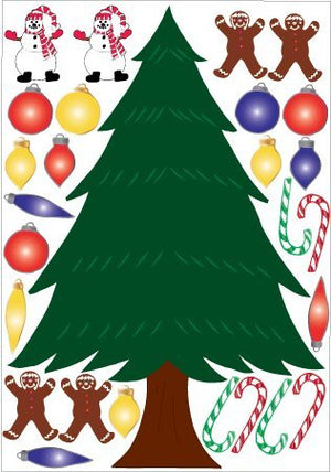 24in Christmas Tree Wall Stickers / Decals