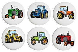 Tractor Drawer Pulls / Ceramic Drawer Knobs