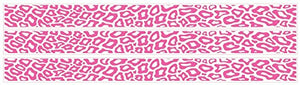 Leopard Print Border in Hot Pink Leopard Print Wall Decals/Stickers