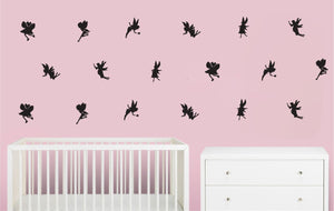 Fairy Wall Decals / 18 Fairy Wall Stickers