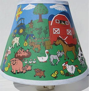 Farm Animal Night Light / Farm Animal Nursery Decor