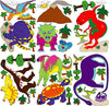 Giant Dinosaur Wall Stickers Decals