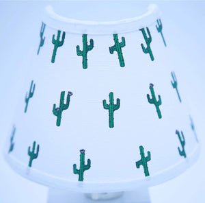 Cactus Night Light/Desert Cactus Children's Nursery Decor