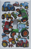 Presto Wall Decals Farm Tractor Light Switch Plates Covers/Single Toggle