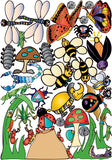 Bugs and Insect Wall Stickers Decals