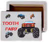 Boy's Monster Truck Tooth Fairy Keepsake Collectible Box