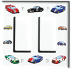 Stock Race Car Light Switch Plate Covers and Outlet Covers / Race Car Room Decor