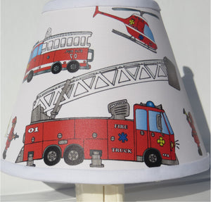 Fire Truck Night Light Fire Truck Kids Room Decor