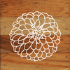 Large Flower Art Prints on a 6 x 6 Rustic Aged Natural Wood Pallet