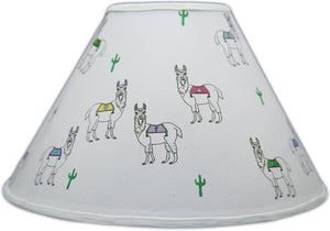Llama Lamp Shade Alpaca Children's Nursery Decor