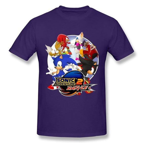 Personalize Short Sleeve T shirt Men Sonic Adventure 2 Battle T