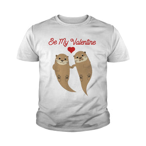 Beaver Be My Valentine Kid ShirtHoodie Longsleeve Tee And Sweater