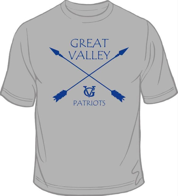 2018 Great Valley Patriot Pride T Shirts Great Valley Middle