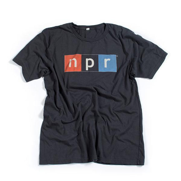 Organic Cotton Color Logo T Shirts Soft Black Npr Shop