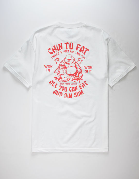 Chin Tu Fat Mens T Shirt WHITE