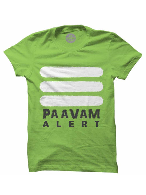 The Souled Stores Kenny Sebastian Paavam Alert T Shirts