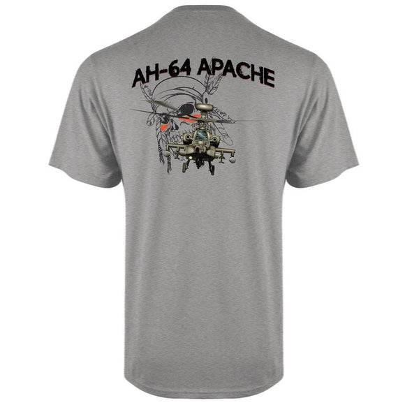Apache Helicopter T Shirt
