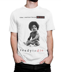 The Notorious B I G Ready To Die T Shirt Biggie Smalls Hip Hop Tee