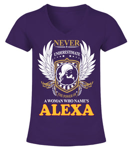 Customised T shirt For Men With Alexa A Woman Who Names Alexa Add