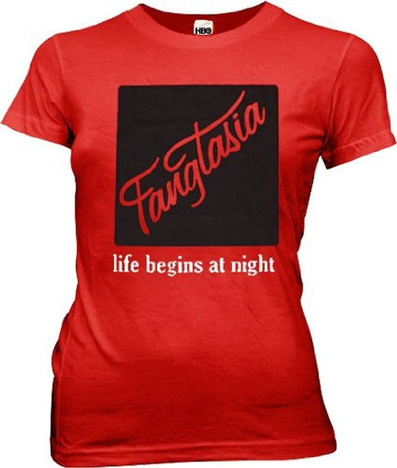 Replicatee Fangtasia Life Begins Red T Shirt