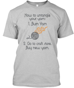 How To Untangle Your Yarn Teespring Campaign