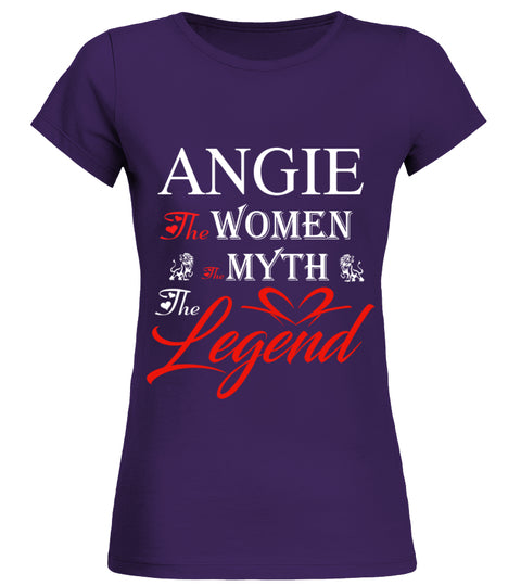 Customised Womans T shirt With Angie The Women The