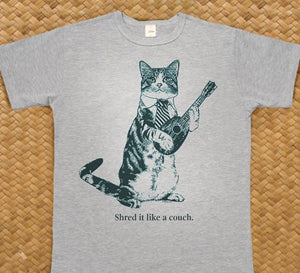 Cat T Shirt Shred It Like A Couch