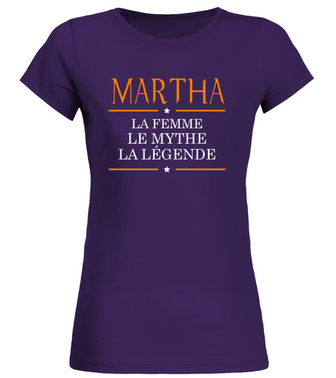 Martha T shirt Martha Le Mythe La Legende Low Cost